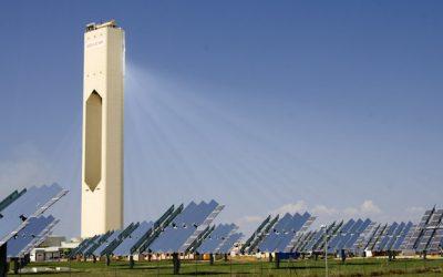 La torre solare in Spagna